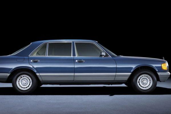 Mercedes W 126: диамантът сред звездите