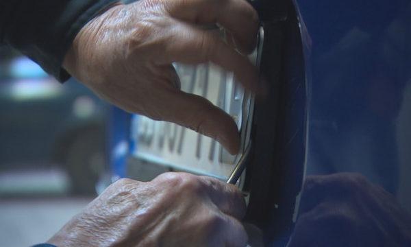 Нов престъпен бизнес набира скорост: Задигат регистрационни табели на коли